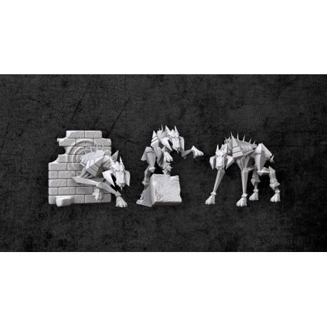 Achtung! Cthulhu Miniatures - Teufel Hounds