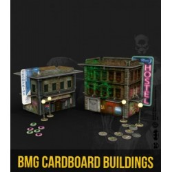 BATMAN MINIATURE GAME CARDBOARD BUILDINGS