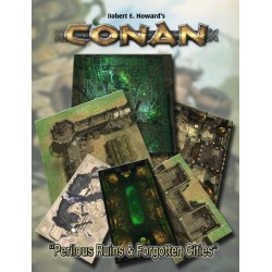 Conan Perilous Ruins & Dead Cities Geomorphic Tiles Set