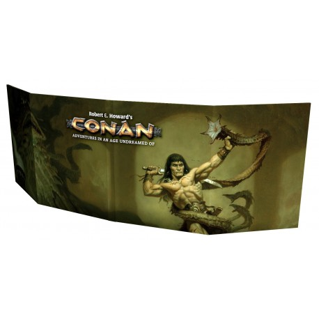Conan: Gamemaster Screen + Gamesmaster Toolkit (EN)