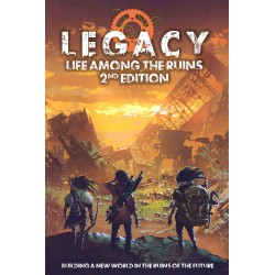 Legacy: Life Among th Ruins 2nd Edition Core Book (EN)