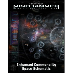 Mindjammer: The Enhanced Commaonality Space Schematic (EN)