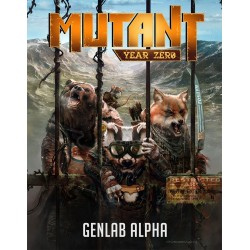 Mutant: Genlab Alpha - Core Rulebook (EN)