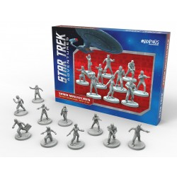 Star Trek Adventures Miniatures: The Next Generation Bridge Crew