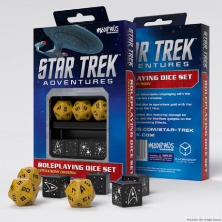 Star Trek Adventures: Operations Division Dice Set