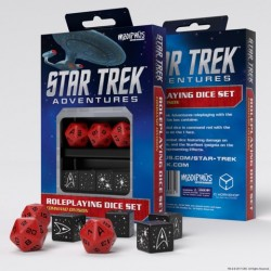 Star Trek Adventures: Command Division Dice Set
