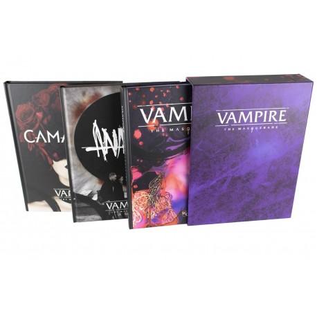 Vampire: The Masquerade: 3 Book Slipcase (EN)