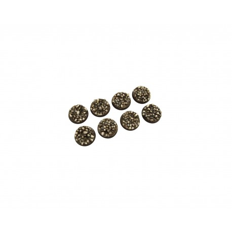 Skulls Bases Round 32 mm (4)
