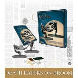 DEATH EATERS ON BROOM