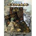 Conan: Forbidden places & pits of horror geomorphic tiles (EN)