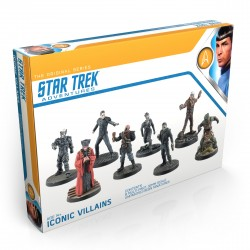 STAR TREK ADVENTURES: 32mm MINIATURES, ICONIC VILLAINS