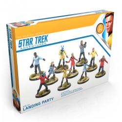 STAR TREK ADVENTURES: 32mm MINIATURES, ORIGINAL SERIES LANDING PARTY