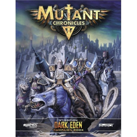 Mutant Chronicles Dark Eden Campaign Book