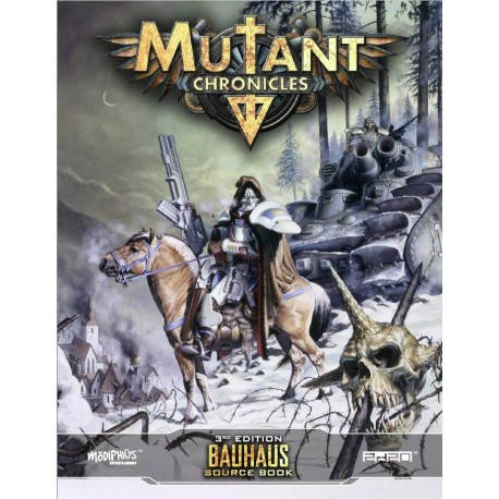 Mutant Chronicles Bauhaus Source Book