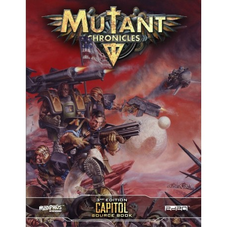 Mutant Chronicles Capitol Source Book