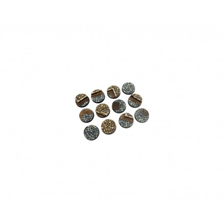Cobblestone Base, Round 25 mm (5)