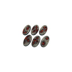 Chaos Waste Bases, Oval 60mm (4)