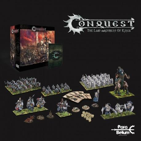 """Conquest """"The Last Argument of Kings """" , Starter deux joueurs FR"""