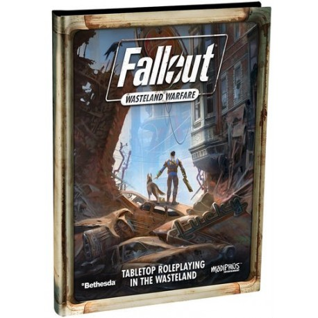 Fallout Wasteland Warfare: Roleplaying Game - Expansion Book SFCR-001