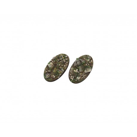 Graveyard Bases, Oval 90mm (2)