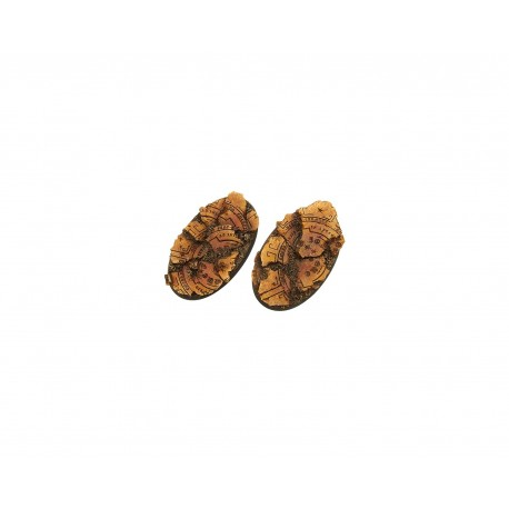 Temple Bases, Oval 90mm (2)