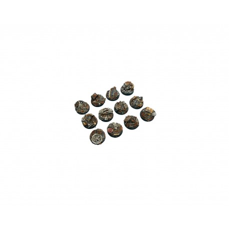 Triad Bases, Round 25mm (2)