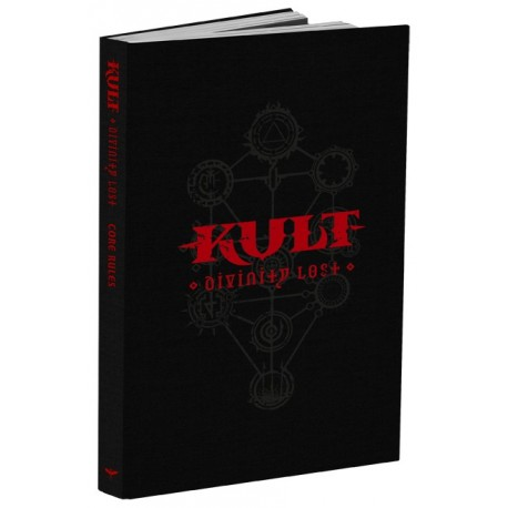 Kult: Divinity Lost Core Rulebook Black Edition