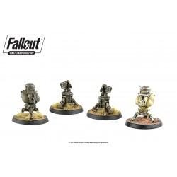 FALLOUT WASTELAND WARFARE - TERRAIN EXPANSION : TURRETS