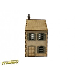 28mm Ruined Terrace House