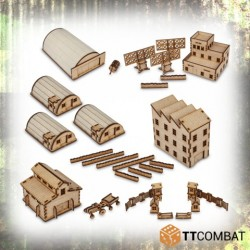 Rural Military Base Bundle (15mm)