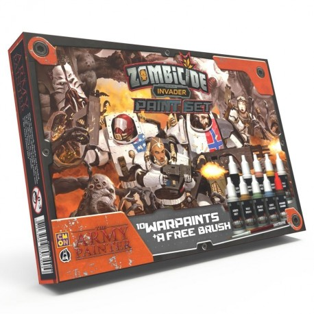 Zombicide : Invader Paint Set