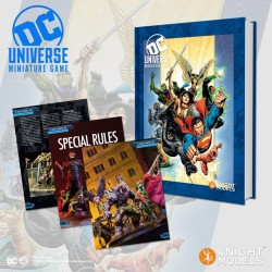DC Universe Deluxe Rulebook + Lex Luthor Classic Costume