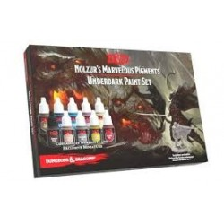 D&D Underdark Paint Set avec figurine exclusive de Drizzt Do'Urden