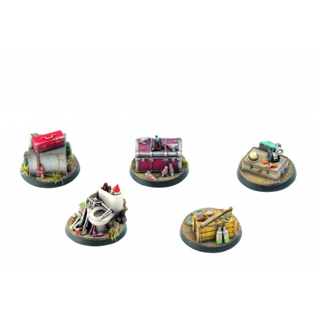 Fallout: Wasteland Warfare - Terrain Expansion: Objective Markers 1