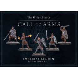 Elder Scrolls Call To Arms Imperial Legion Plastic Faction Starter