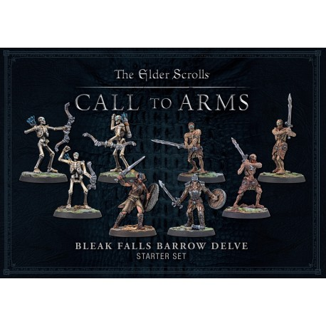 Elder Scrolls Bleak Falls Barrow Plastic Delve Set