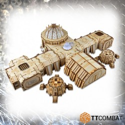 TTCombat - Sci-Fi Gothic Fortified Frontline Bunker Complex