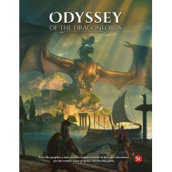 Odyssey of the Dragonlords: Softcover player's guide