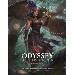 Odyssey of the Dragonlords: Hardcover adventure book