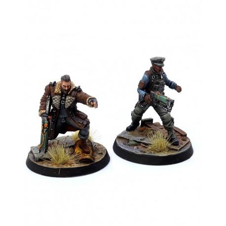 Fallout: Wasteland Warfare - Brotherhood of Steel: Elder Maxon and Captain Kells