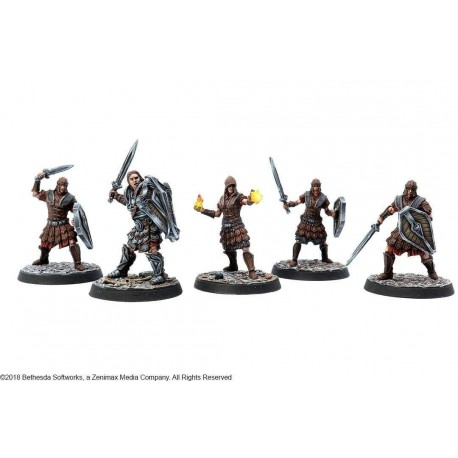 The Elder Scrolls Call To Arms Imperial Legion Resin Faction Starter Set