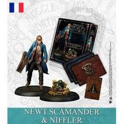 NEWT SCAMANDER & NIFFLER (FR)