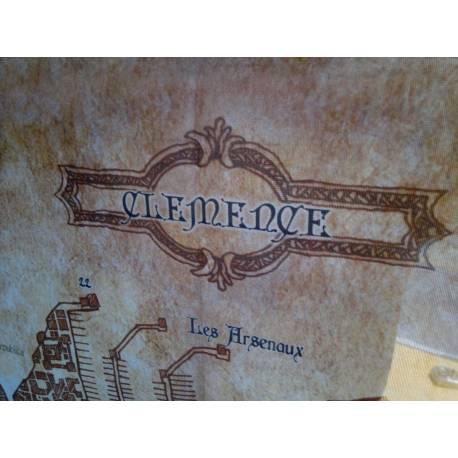 SHADE - Carte en tissu de Clemence.