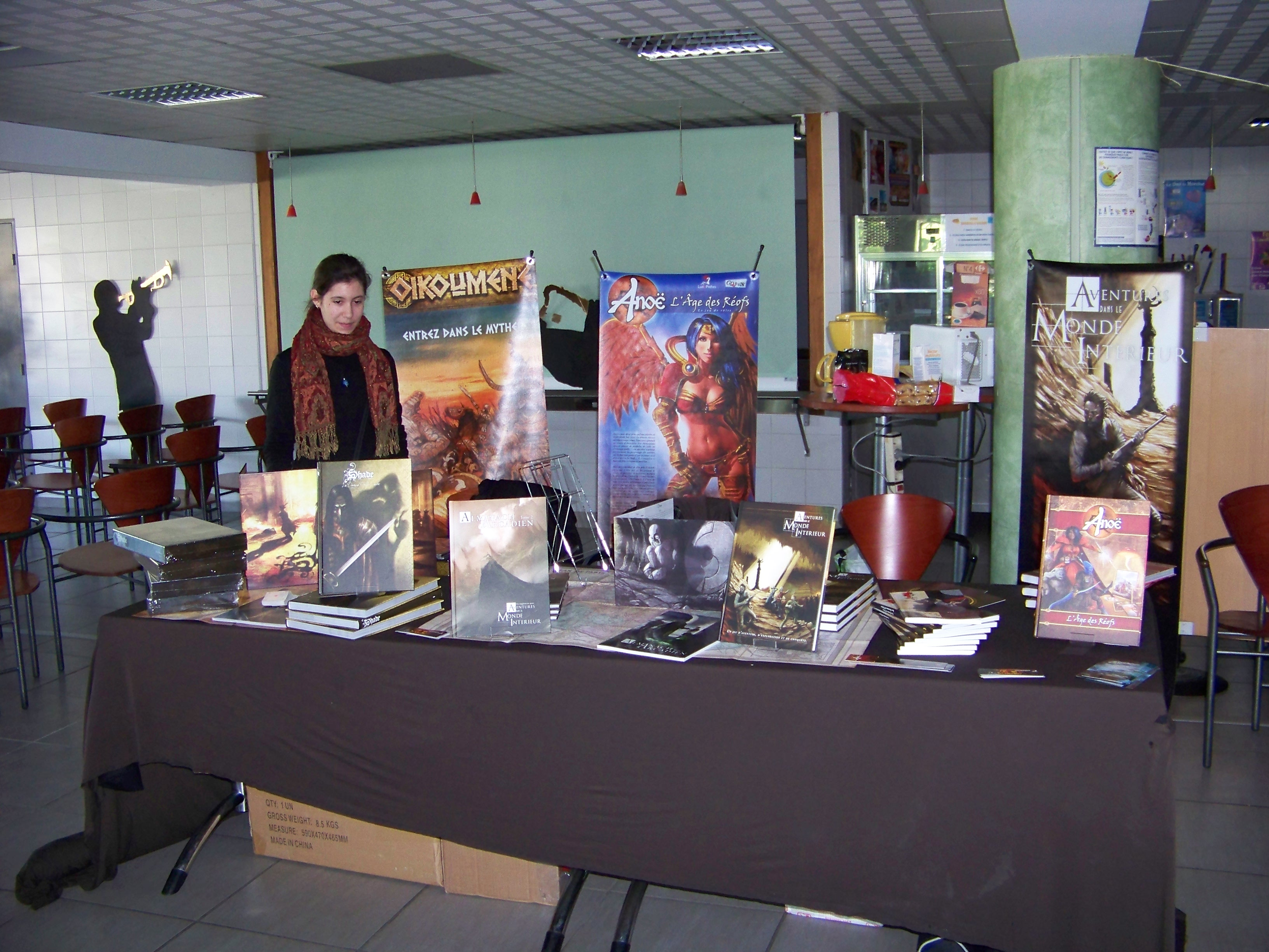 On y était ! Grimoire livre VI, la convention de l'INSA à Toulouse… Très bon accueil, excellente ambiance, un grand merci aux orgas pour ce super week-end ! Des décorations […]